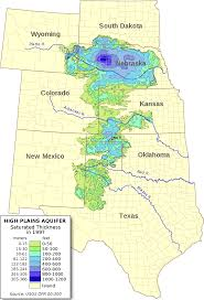 Colorado State University Map by Ogallala Aquifer Wikipedia