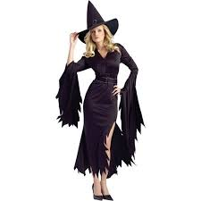 Patriotic Halloween Costumes Gothic Witch Halloween Costume Walmart