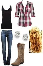 ideas about Cowgirl Outfits on Pinterest   Country fashion     Pinterest