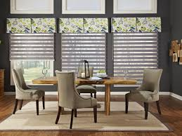 delightful decoration dining room window treatments marvelous idea