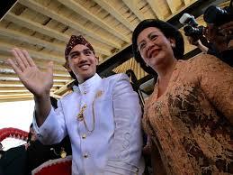 Gambar Pernikahan Putri Sri Sultan Hamengkubuwono X