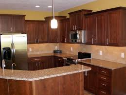 Best Kitchen Cabinets On A Budget by Cherry Cabinets Kitchen Amber Cherry Mitred Raised Kitchen For