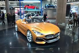 bmw concept z4 u2013 in the flesh at the 2017 frankfurt motor show evo