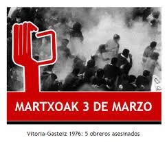 Vitoria: 3 de marzo de 1976. Cinco obreros asesinados