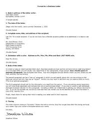 Format A Business Letter by How A Business Memo Is Different From A Business Letter Free