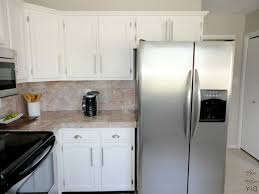Painting Thermofoil Kitchen Cabinets Granite Countertop Readymade Kitchen Cabinets Affordable Range
