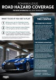 lexus parts coupon tire center pohanka lexus