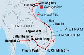 Bangkok Location In World Map by Best Of Vietnam U0026 Cambodia Vietnam Tours Intrepid Travel Us