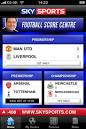 Sky Sports Football Score