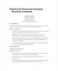 Research Analyst Sample Resume by Financial Analyst Resume Examples Financial Analyst Resume