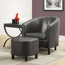 Wingback Rocking Chair Furniture Elegant Chair And Ottoman Sets That You Must Have