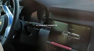 Porsche Cayenne Inside - scoop porsche says nein to buttons for 2018 cayenne u0027s cabin