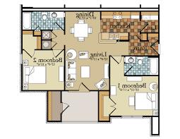 home design lovely two bedroom house plans 2 floor inside 85