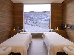 massage room at amangiri resort and spa in canyon point southern