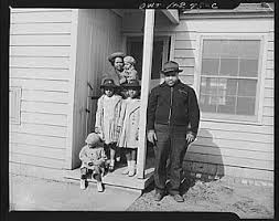 Black families like this one took advantage of the opportunity to live in the Sojourner Truth homes  They sought to avoid the dilapidated      portfolio