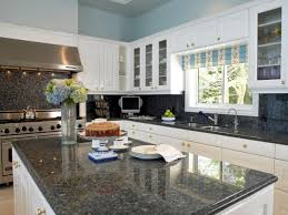 Kitchen Color Ideas With White Cabinets Granite Countertop Colors Hgtv