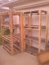 Building Wood Shelves For Storage by Ryobi Nation Pallet Shelves For The Garage Diy Cool Stuff To