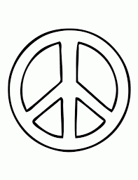 peace sign coloring pages pertaining to motivate in coloring image