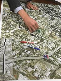 Downtown Dallas Map by Third And Final Public Workshop On Downtown Highways Set For