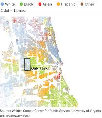 Chicago Suburbs Map How Race Still Influences Where We Choose To Live The Washington