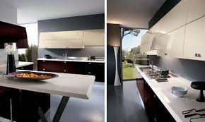 Kitchen Cabinet Inside Designs by Architecture Cool High Tech Kitchen Design With White Modern