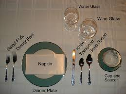 basic rules of table setting etiquette inmyinterior informal place