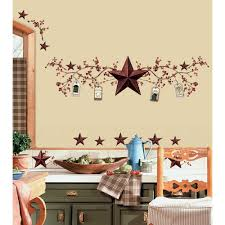 new stars berries wall decals country kitchen stickers rustic new stars berries wall decals country kitchen stickers rustic primitive decor 034878813912 ebay