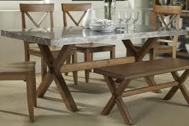 Concrete Dining Room Table Hooker Furniture Dining Room Chatelet Refectory Rectangle Trestle