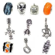 chamilia halloween beads amazon com pro jewelry 10 beads of halloween charms set for