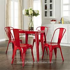 wholesale cheap steel industrial retro cafe metal dining chair
