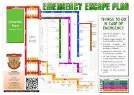 emergency escape plan st george u0027s brunei darussalam