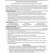 Sample Resume For Customer Servis Customer Service Manager Cover
