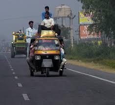 tempo rickshaw