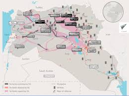 Iraq Syria Map by At War Against The Islamic State From Syria To The Region The