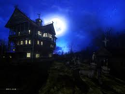 spooky halloween background free free download fine haunted house images