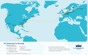 Map Of Europe And Africa by Overseas Shipping Route Maps L Wallenius Wilhelmsen Logistics