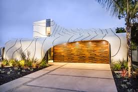 Elite Home Design Brooklyn A House With A Massive Undulating Wave Like Exterior Design Milk