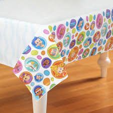 bubble guppies plastic tablecover birthdayexpress com