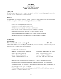 Examples Of Hvac Resumes by Hvac Resume Examples