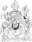 FUN & LEARN : Free worksheets for kid: Ultraman Coloring pages