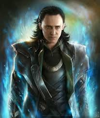 Loki, god of fire, trickster god and Norse god of the common people.