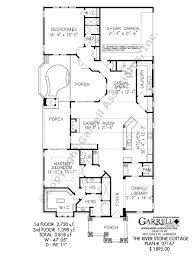 river stone cottage house plan house plans by garrell associates