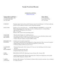 Combination Resume Format Format Combination Format Resume