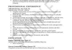 Secretary Resume Sample by Classy Inspiration Secretary Resume Examples 4 Secretary Resume