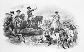 George Washington at the Battle of Monmouth        during the American Revolutionary War  Encyclopedia Britannica