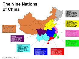 Map Of China Provinces The Nine Nations Of China Patrick Chovanec