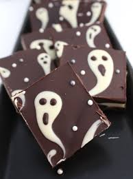 Easy Treats For Halloween Party by Lovely Little Link Party Candy Bark Sweet Life And Barking F C