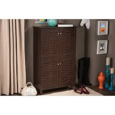 Shoe Storage Furniture by Amazon Com Wholesale Interiors Baxton Studio Winda Modern And