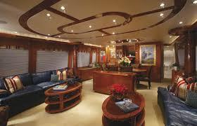Hatteras Yacht Interior