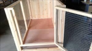 indoor rabbit cage pen youtube